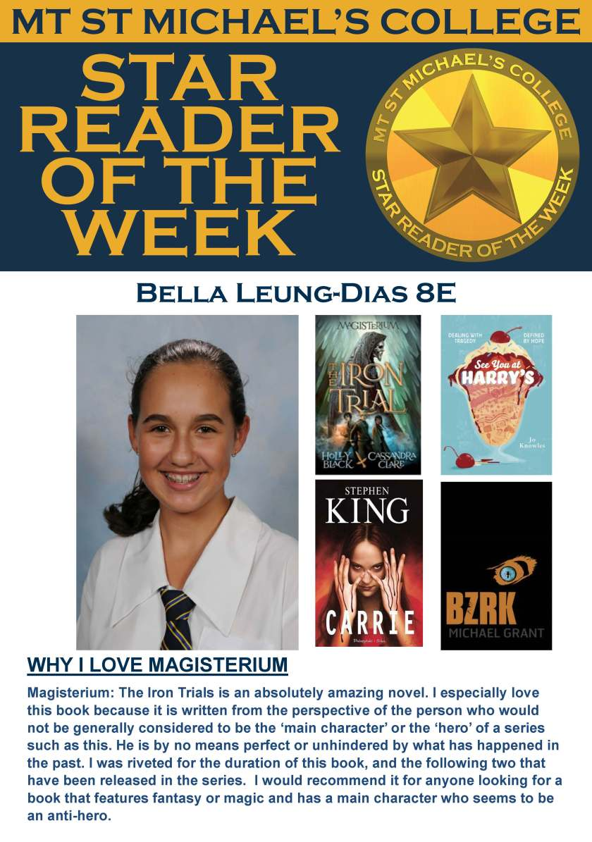 Star Reader of the Week - Bella Leung-Dias
