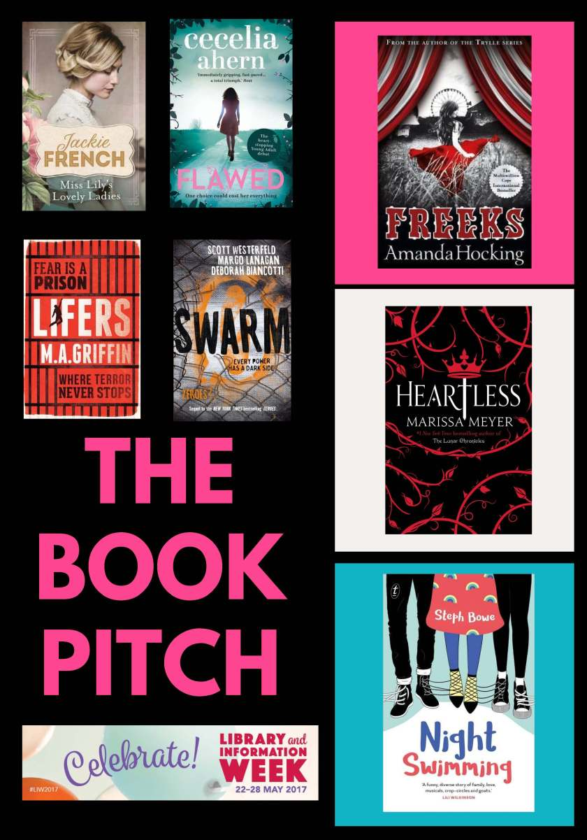 The book pitch LIW 2017
