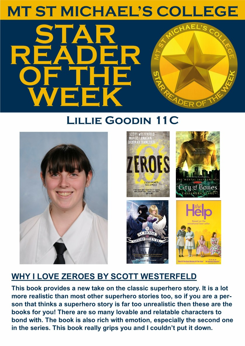 Star Reader of the Week - Lillie Goodin