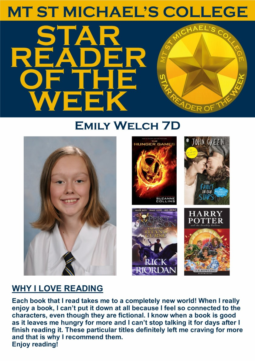 Star Reader of the Week - Emily Welch