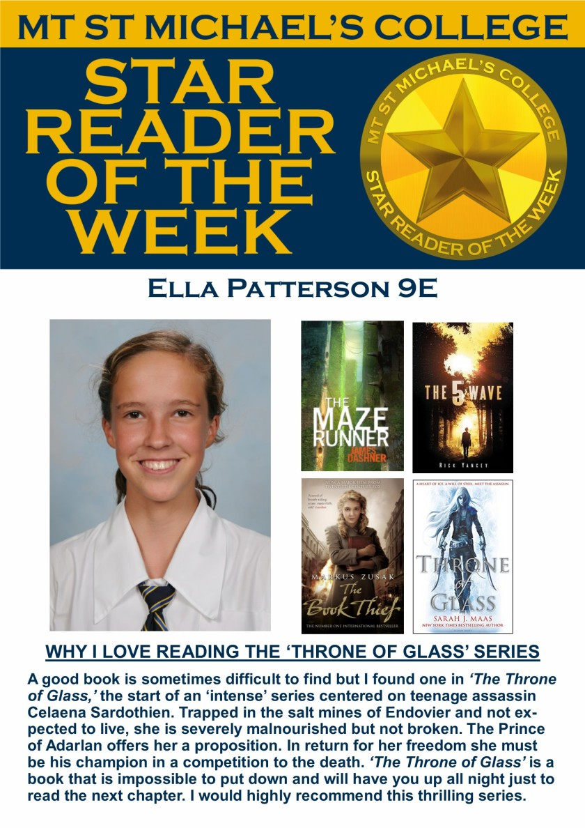 Star Reader of the Week - Ella Patterson