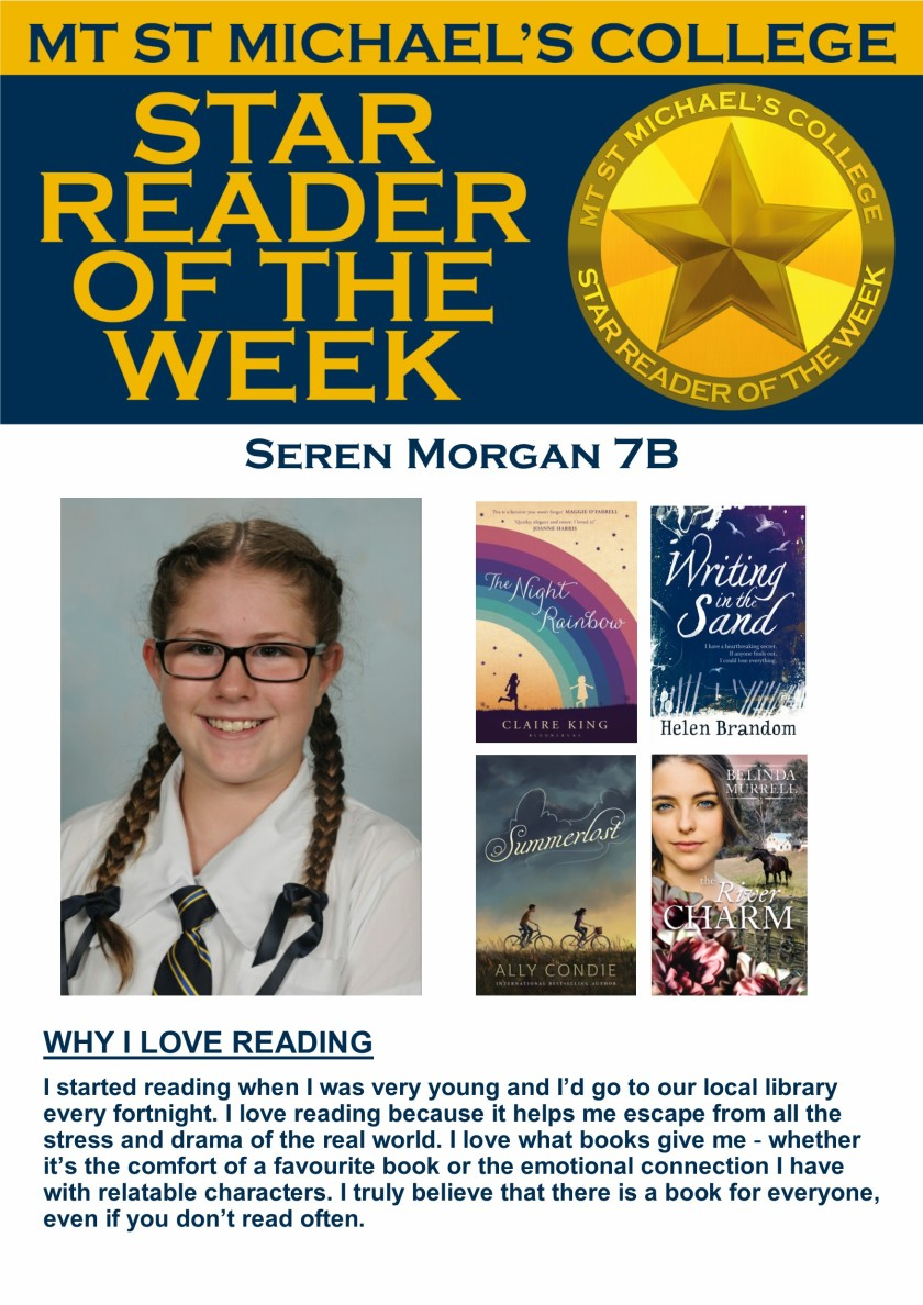 Star Reader of the Week - Seren Morgan