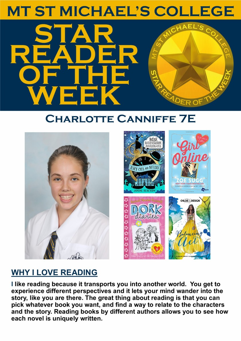 Star Reader of the Week - Charlotte Canniffe