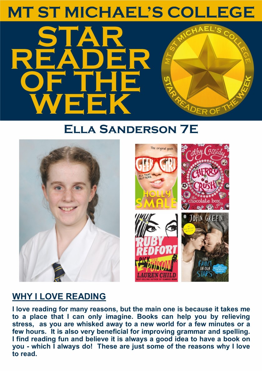 Star Reader of the Week - Ella Sanderson