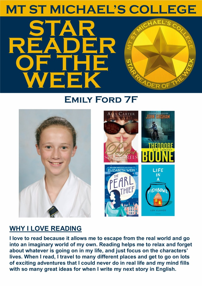 Star Reader of the Week - Emily Ford