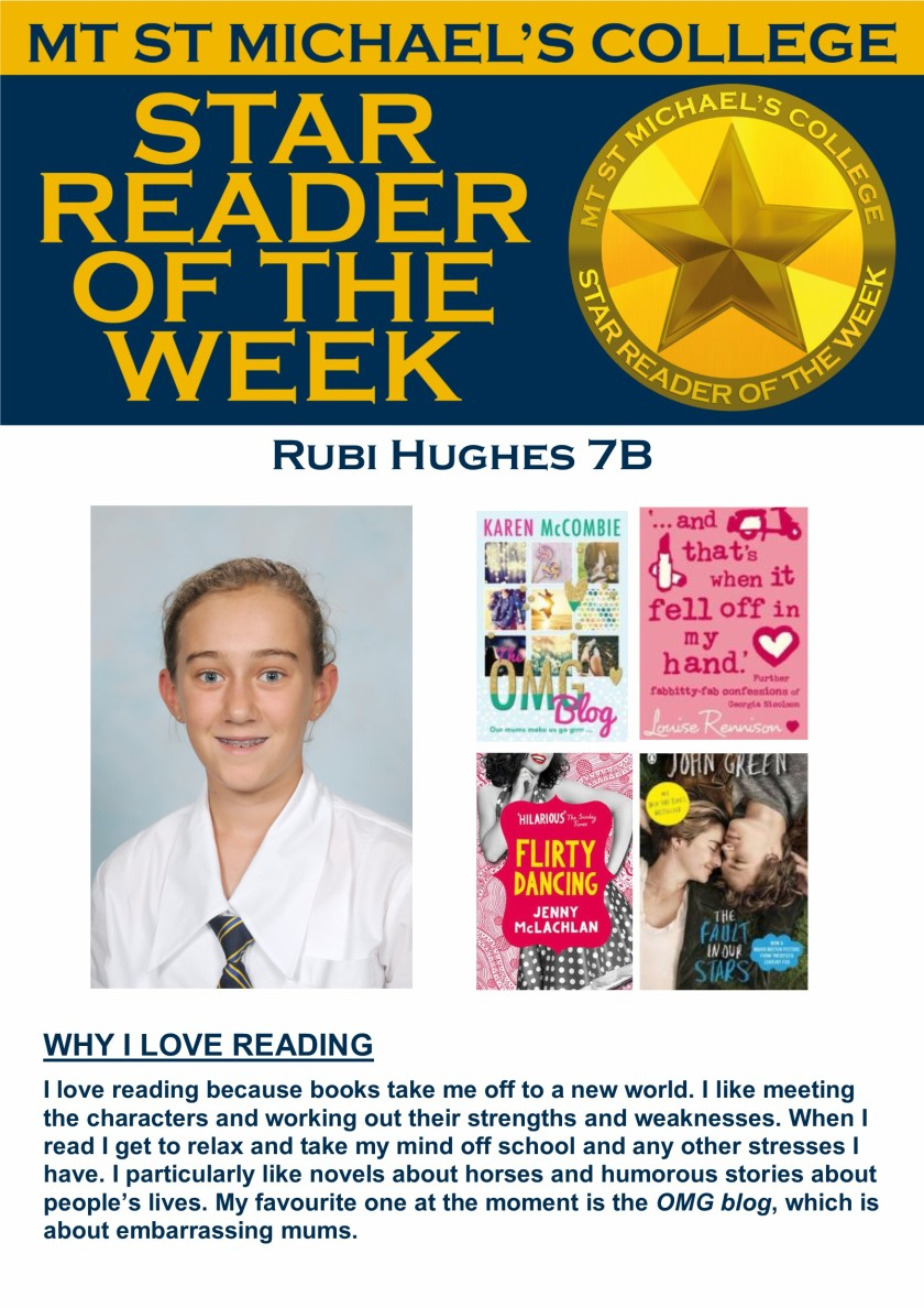 Star Reader of the Week - Rubi Hughes