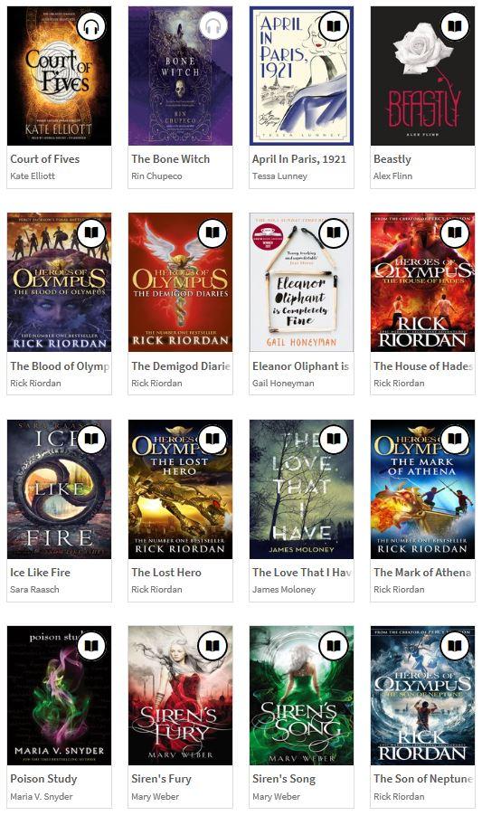 Overdrive books