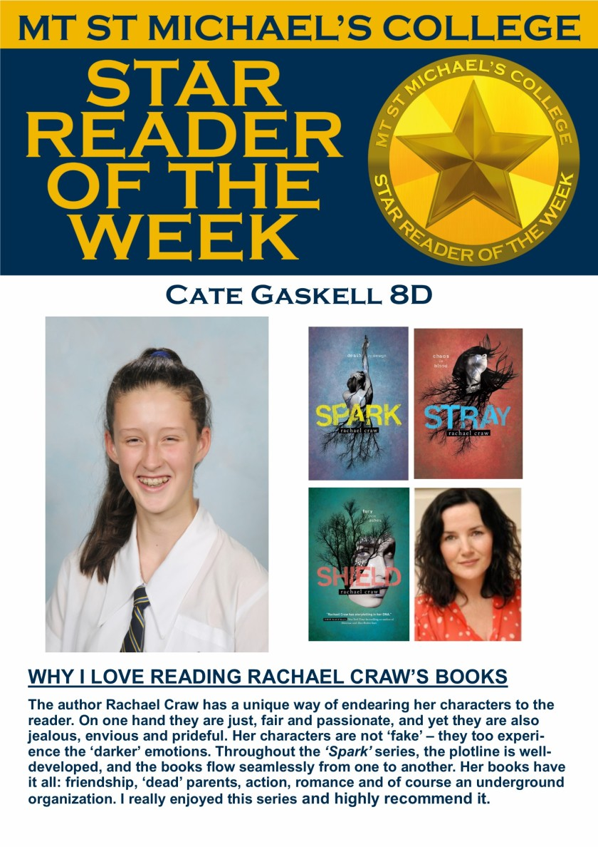 Star Reader of the Week - Cate Gaskell