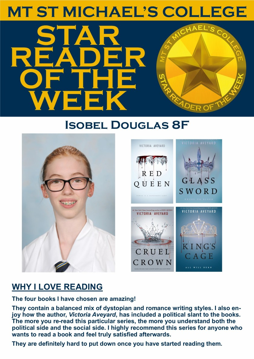 Star Reader of the Week - Isobel Douglas