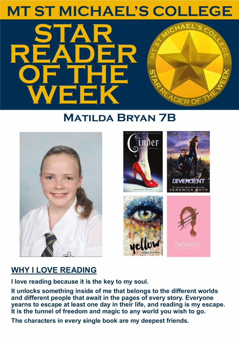 Star Reader of the Week - Matilda Bryan