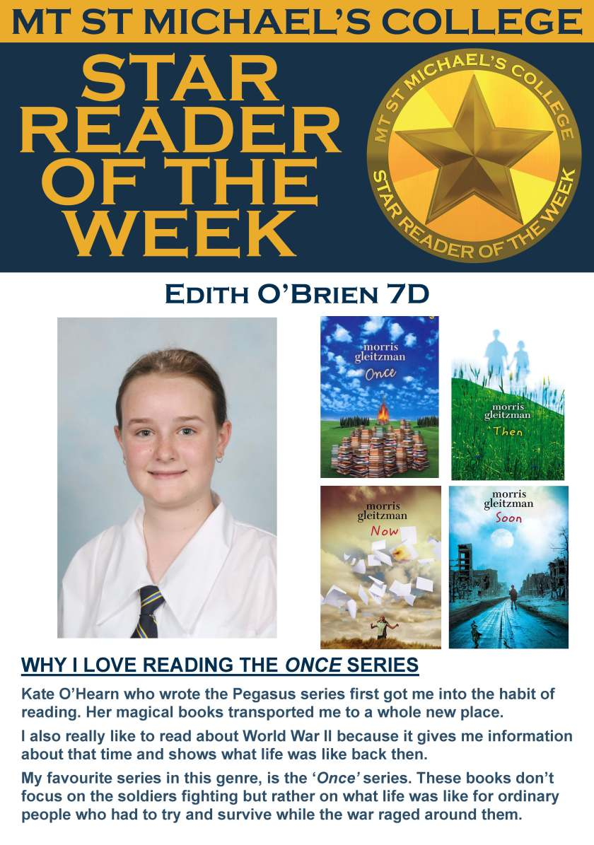 Star Reader of the Week - Edith O'Brien