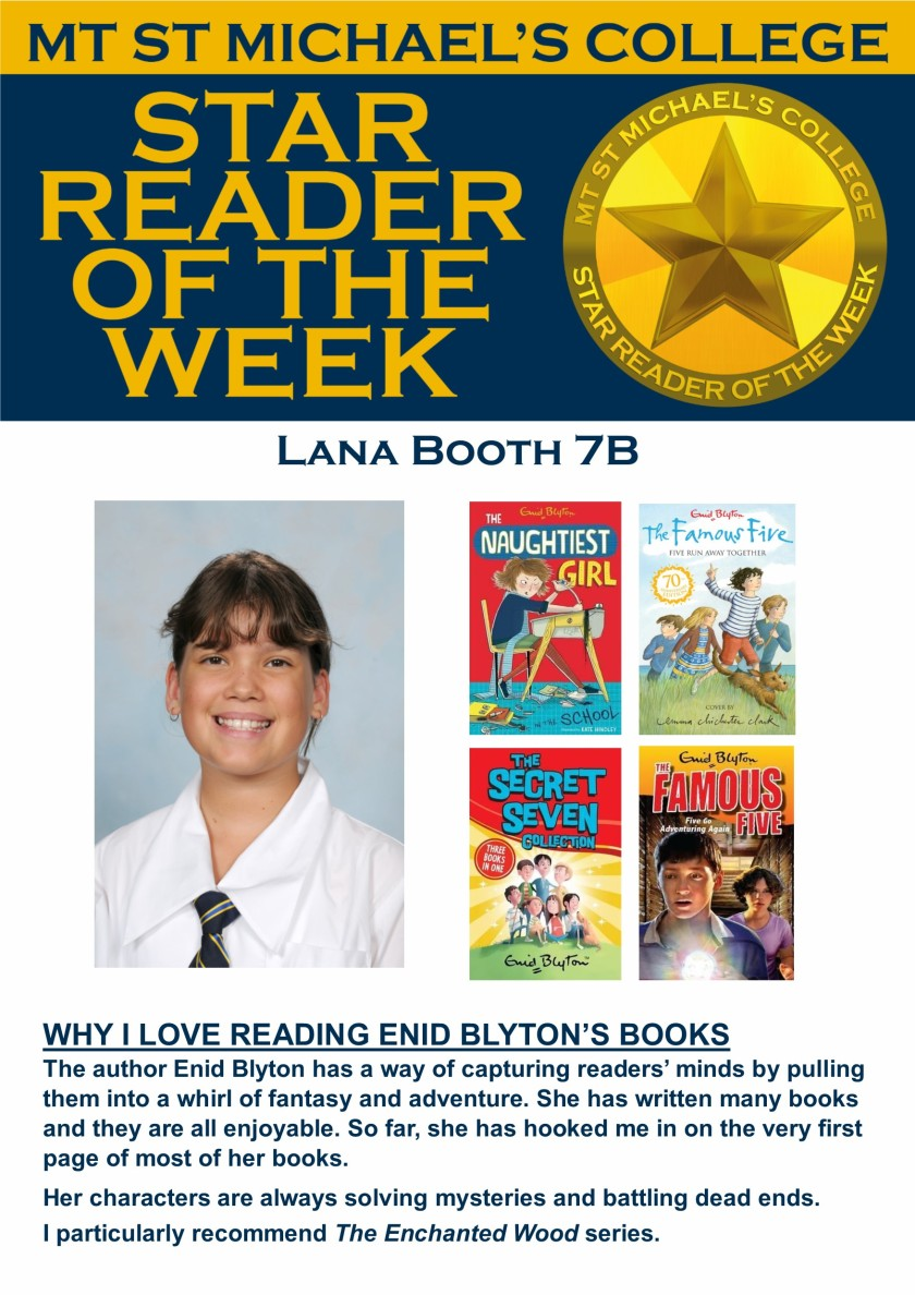 Star Reader of the Week - Lana Booth
