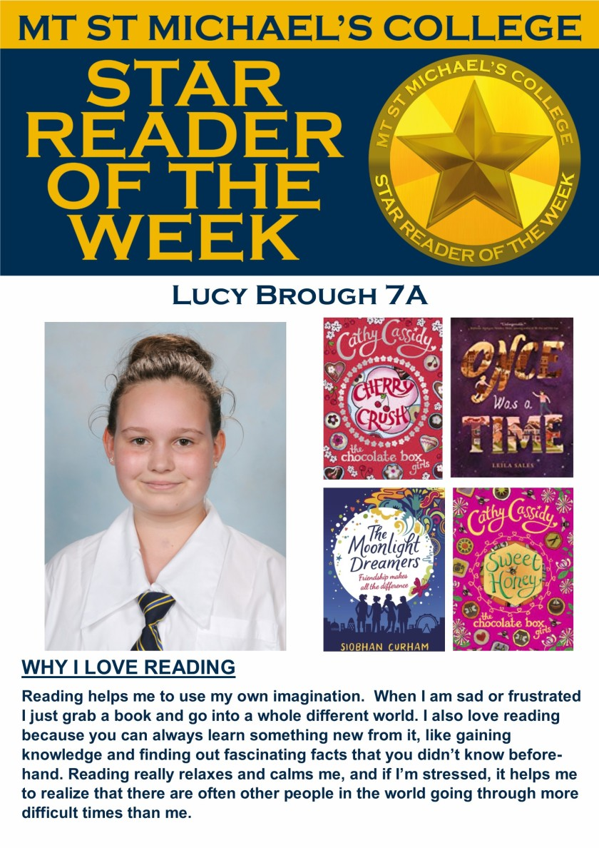 Star Reader of the Week - Lucy Brough